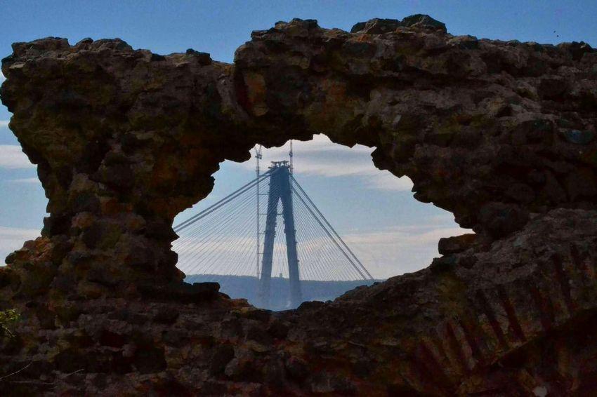 YavuzSultanSelimBridge Poyraz Kalesi Castle Walls Castle View  3.köprü Poyrazköy Benimkadrajim Benimobjektifimden Benimgözümden Historical Building Historical Place