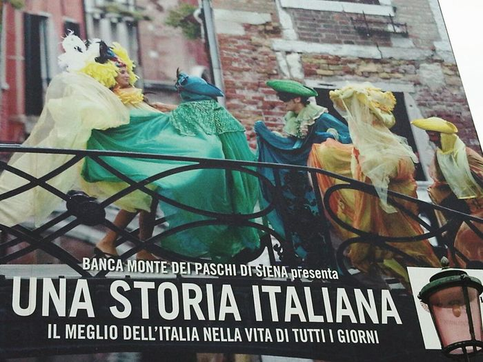 Venice Italy Street Advertising