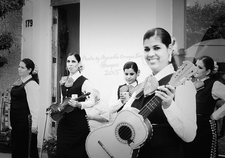 Mariachi Femenil Mariachi Tapatio Photo By Agustín Orozco Díaz - 2015