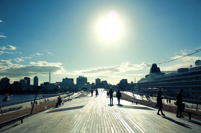Ricoh Gr Built Structure Architecture Sunlight Sun Lens Flare Sunbeam Building Exterior City Day City Life