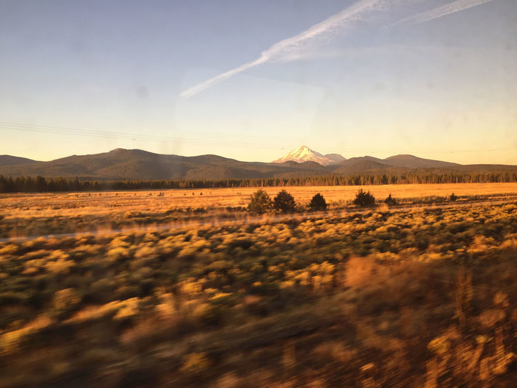 Clouds And Sky Sunrise Oregon Mount Shasta Mountains