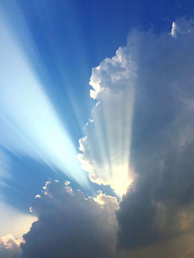 구름은여름구름 ㅎㅇ First Eyeem Photo Clouds Naturallight Sky