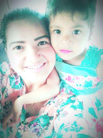 Con mi muñeka 😍😍 First Eyeem Photo