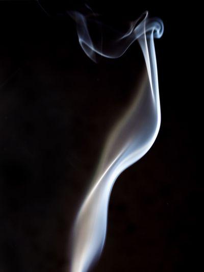 Close-up of black background over black background