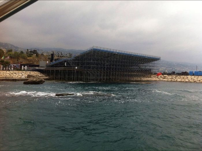 Water Water Front  Theater Byblos