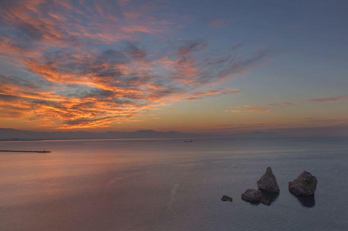 Vietri sul mare (Salerno) Italy Sea And Sky Travel Photography Landscape Sunset Beautiful Nature Clouds And Sky Beautiful Place Costiera Amalfitana Vietrisulmare