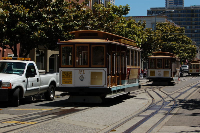 USA San Francisco Frisco Nofilter Sunny City Life Cable Car Railway Street Streetphotography Architecture City Jungle Outdoor Summer Building Road