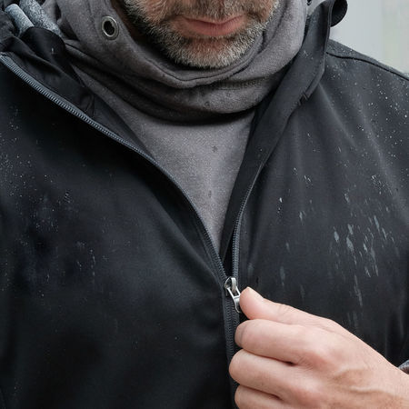 Adult Beard Black Jacket Close-up Day EyeEmNewHere Front View Headshot Human Body Part Human Hand Indoors  Lifestyles Men Midsection One Man Only One Person Outdoor Clothing People Raindrops Raindrops On Black Jacket Rainy Real People Waterproof Waterproofing TCPM