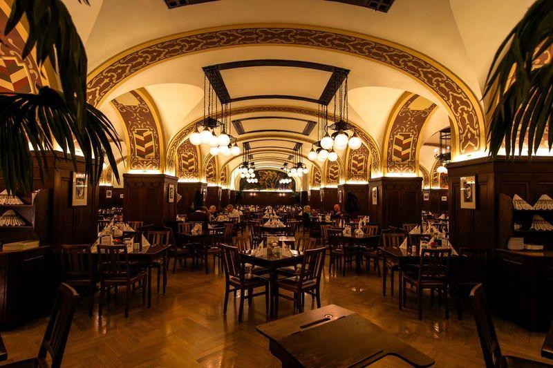 Auerbachs Keller Goethe Restaurant Dinner