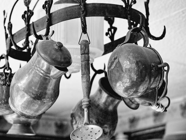 Black And White Friday Hanging Close-up Black And White Outdoors Black And White Photography Photography Themes Black & White Architecture Reflection Business Finance And Industry Kitchen Utensils Kitchen Utensil Kitchen Art Kitchen Decoration