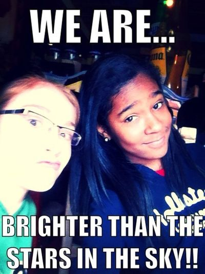 WE ARE.. Brighter Than The Stars In The Sky