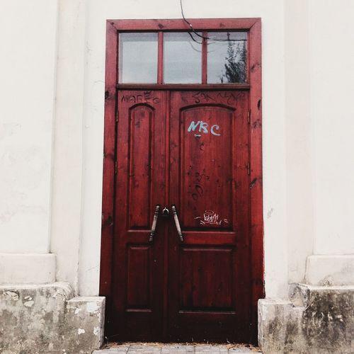 Door Arhitecture Old Buildings
