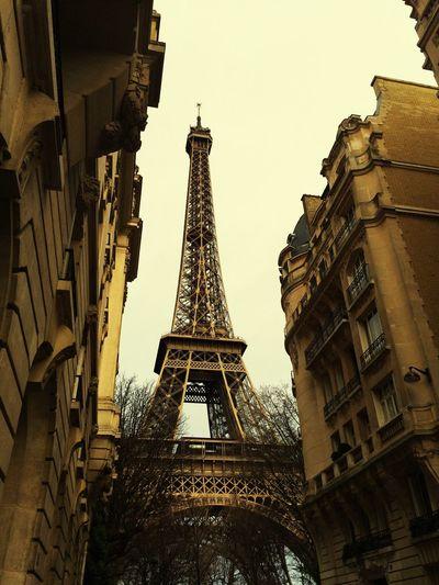 Aiffeltower Architecture Paris Low Angle View Travel Destinations