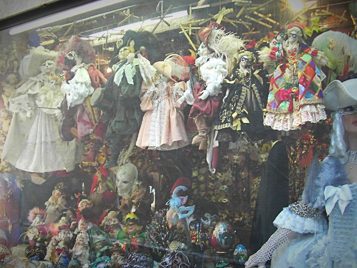 Venice, Italy Puppets Windowshopping