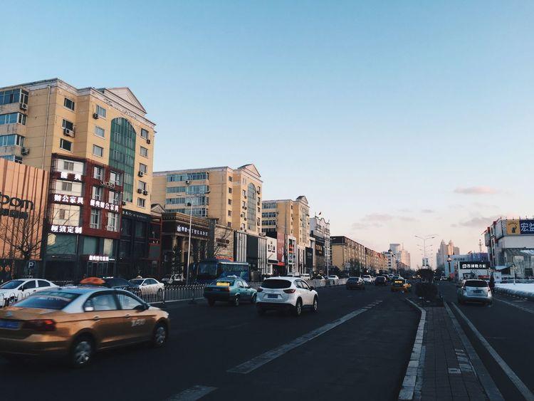 哈尔滨 中国 Harbin China Cityscapes City Street Street Ontheroad Urban Urban Landscape Urban Life Urbanphotography Building VSCO Vscocam IPhoneography