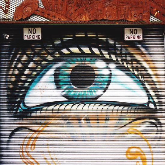 Eye mural in Deep Ellum. Deepellum Dallas Texas Mural Eye Door Art Is Everywhere