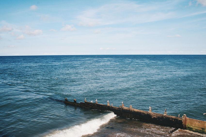 Summer Summertime Nature Spring Springtime Nature Photography Sea Landscape Seaside Sea And Sky Cromer Cromer Beach Norfolk Uk