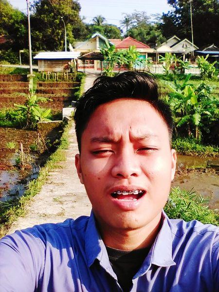 First Eyeem Photo Brown Eyes It's Me My Life My Adventure White Rice Field Salatiga Semarang Indonesia