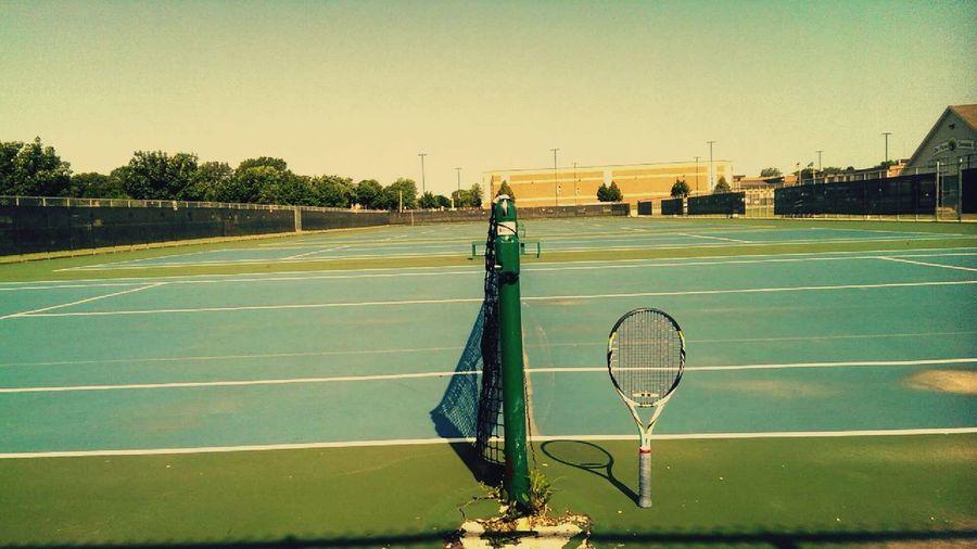 Love at first sight Tenniscourt Love Enjoying Life Relaxing Missyou Depere