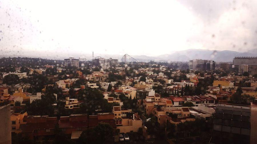 Rainy days City