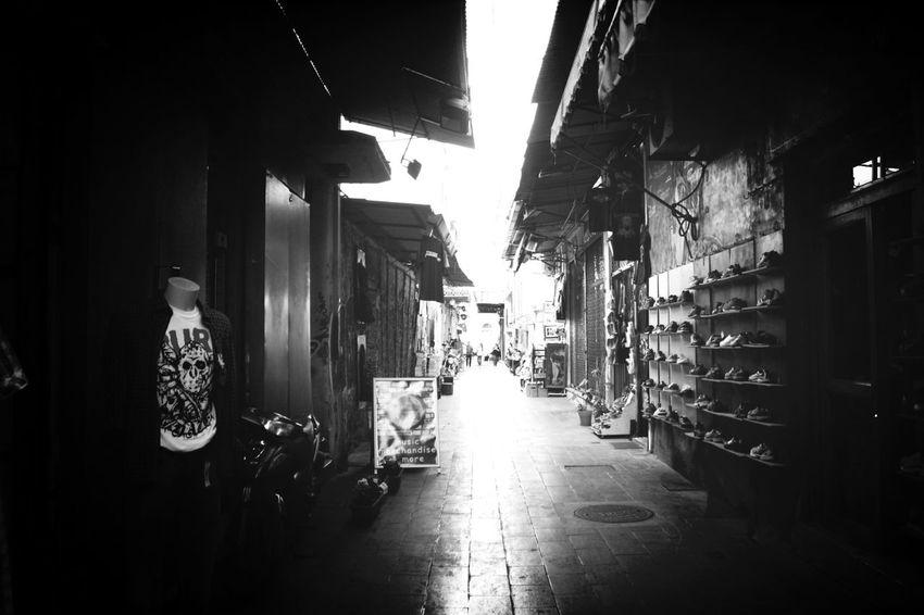 Streetphotography Shops Black And White Monastiraki