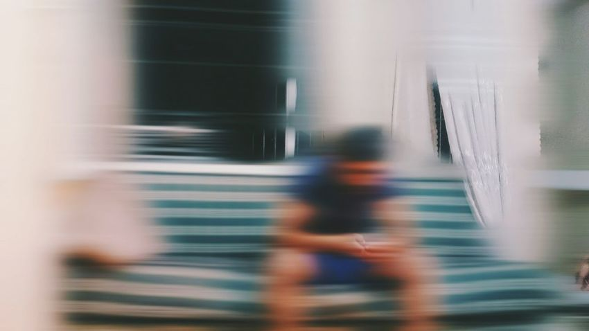 A Bird's Eye View Blurred Motion Blurred Blur Lines Capture The Moment Captured Moment Blue White Conceptual