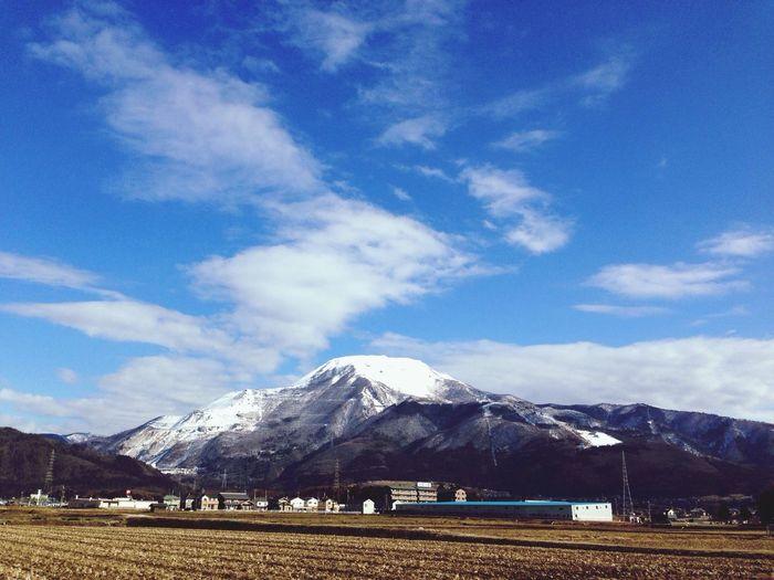 IPhone5 伊吹山 Mt.Ibuki Sky