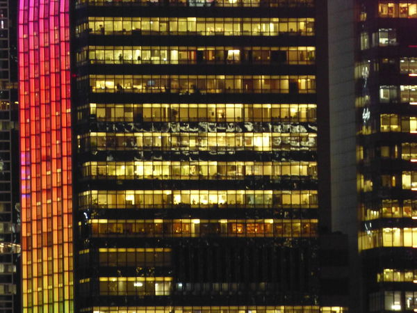 Architecture Architecture Architecture_collection Building Exterior Built Structure Business District Business Finance And Industry City Colourful Downtown District Illuminated Lighted Lighted Buildings Lighted Structure Lighted Windows Night Night Lights Nightphotography Office Building Exterior Skyscraper Window Working