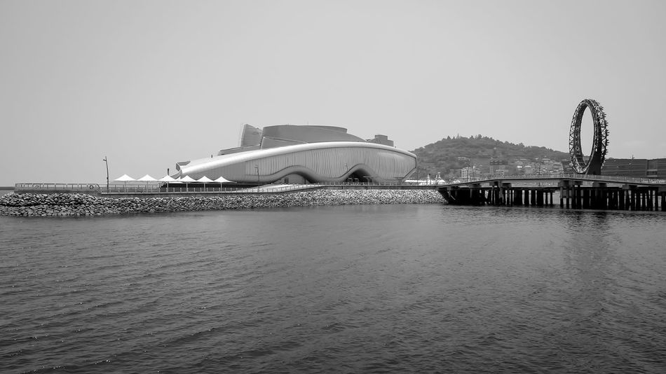 Yeosu YeosuEXPO EyeEm Korea Korea Monochrome Architecture_bw Blackandwhite Black And White Black & White Landscape