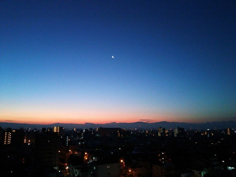 Taking Photos Hi! Hello World Sky Amazing View Cloud And Sky Beutiful  Moon Osaka-shi,Japan