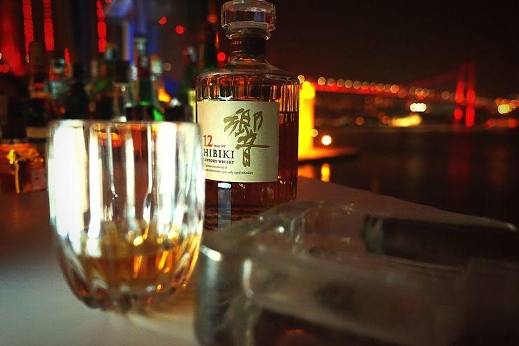 Banyan Bar Cigar Habanos HIBIKI Whiskey