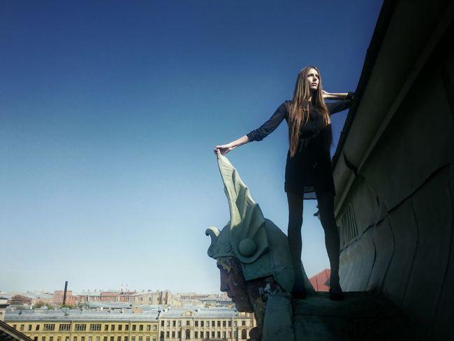 держать в своих руках Model Roof Saint Petersburg где вы никогда не будете