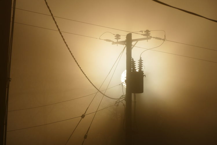 Foggy day.. Connection Day Dream States Electricity  Electricity Pylon Ethereal Fog Foggy Foggy Weather Low Angle View No People Outdoors Silhouette Silhouette_collection Sky Softness Place Of Heart