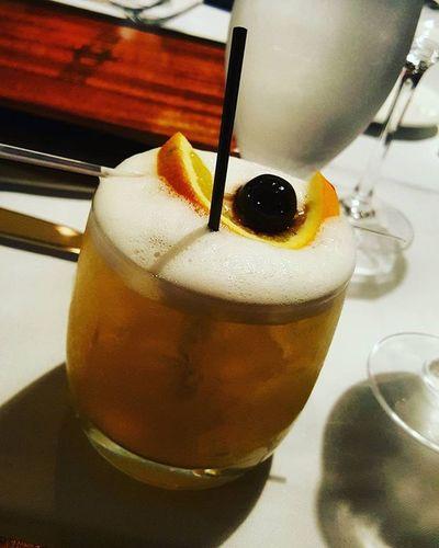 A real whiskey sour Whiskeysour Eggwhite Atlanticcity