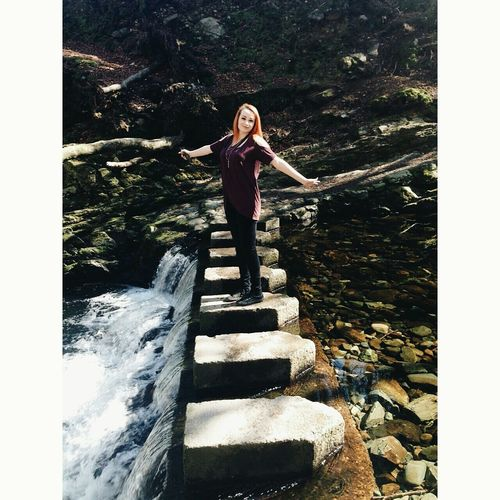 I'm going on an adventure Enjoying The Sun Tollymore Forest Park Northern Ireland