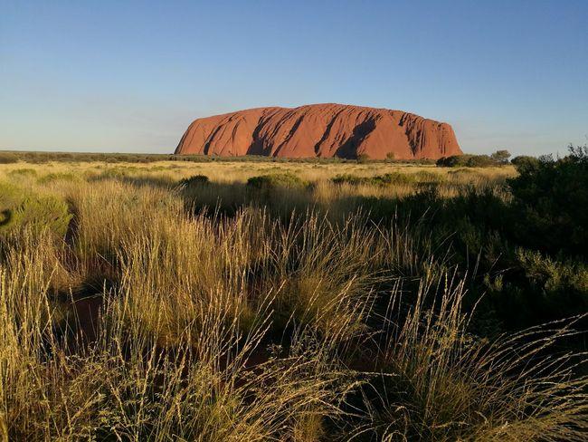 Aboriginal Land Uluru Kata Tjuta Uluru Outback Australia Red National Park