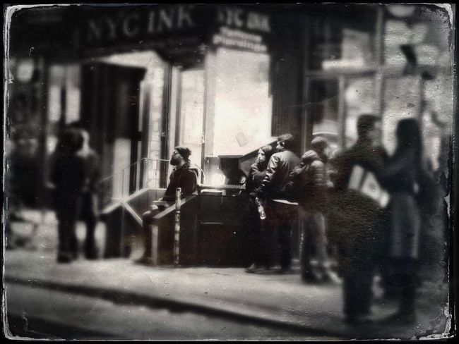 Greenwich Village Street Photography Tintype Greenich Village NYC Camera - Photographic Equipment Built Structure Men Photography Themes Outdoors