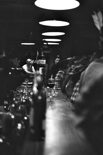 saloon Canonae1 Kodak T-max 400 Bordeaux Saloon The Week On EyeEm