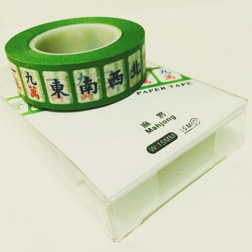 Life passion haha Mahjong Tape Art
