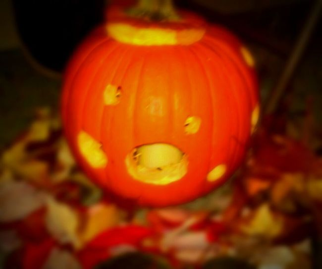 Pumpkin Halloween Orange Color Anthropomorphic Face Jack O' Lantern Close-up Spooky Autumn Gourd A Dash Of Magic Eyeem Market Place I LOVE PHOTOGRAPHY Wicked Awesome Spectrum Multi Colored Fall Collection The Week On EyeEem Best Of The Best Telling Stories Differtenly EyeEm Master Class Color Photography EyeEm Best Edits Outdoors Photograpghy  Maximum Closeness Recreational Pursuit