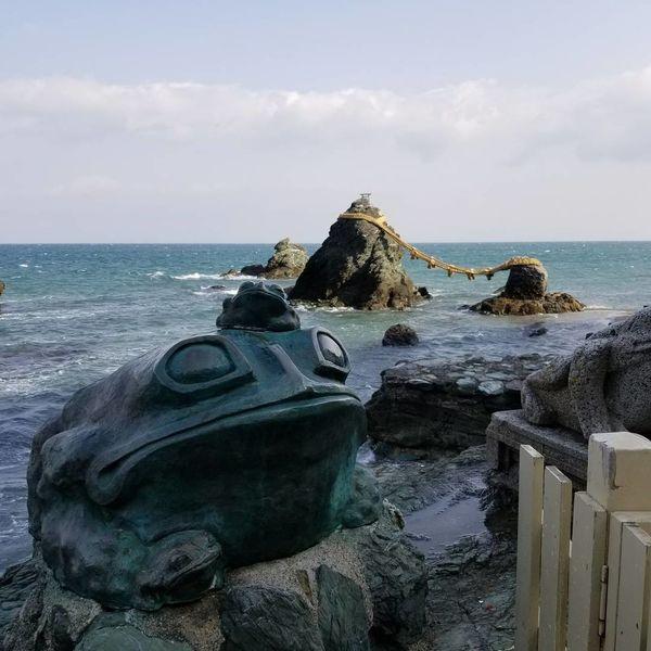 夫婦岩 Trip Landscape