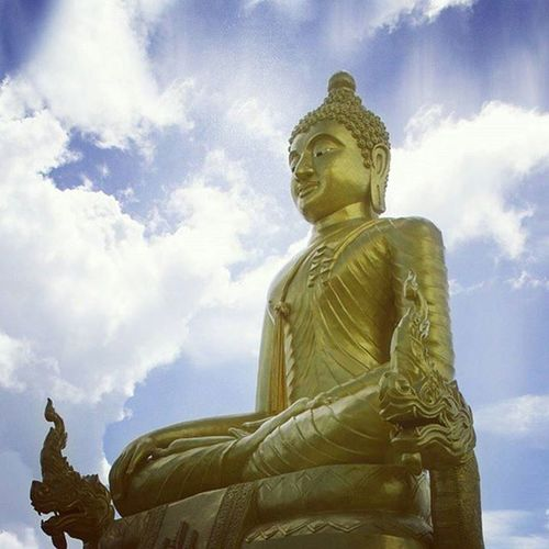 The quieter you become the more you can hear. Buddha Peace Rays Throwback Thailand Phuket Photooftheday Photography Buddhalove Buddhastatue Buddism Peaceful Gagansamtaniphotography