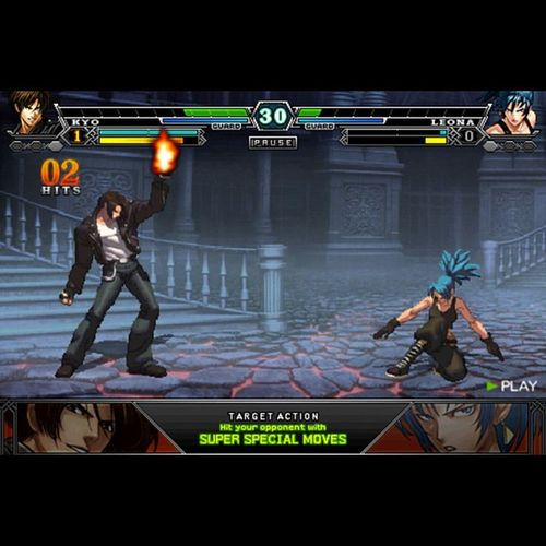 The best game on the iPhone KingOfFighters IPhone Bestgame MustHave