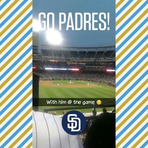 Padresgame Sandiego FirstTime Baseball