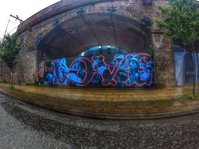 """LOVE"" Graffiti Street Art In Manchester City centre...x Graffiti Love Tag First Eyeem Photo Streetart Spraypaint Urban ArtWork Art Words In The Wild Manchester UK Manchester"
