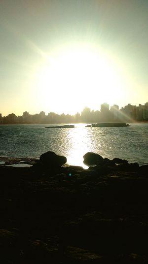 Pôr do sol em Praia da Costa Relaxing Enjoying Life Hi!