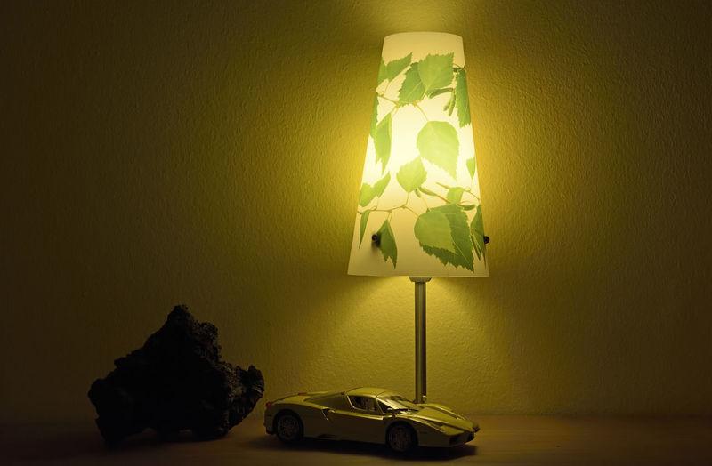 Ferrari Lampe Modelcar Scale  Car Enzoferrari Illuminated Indoors