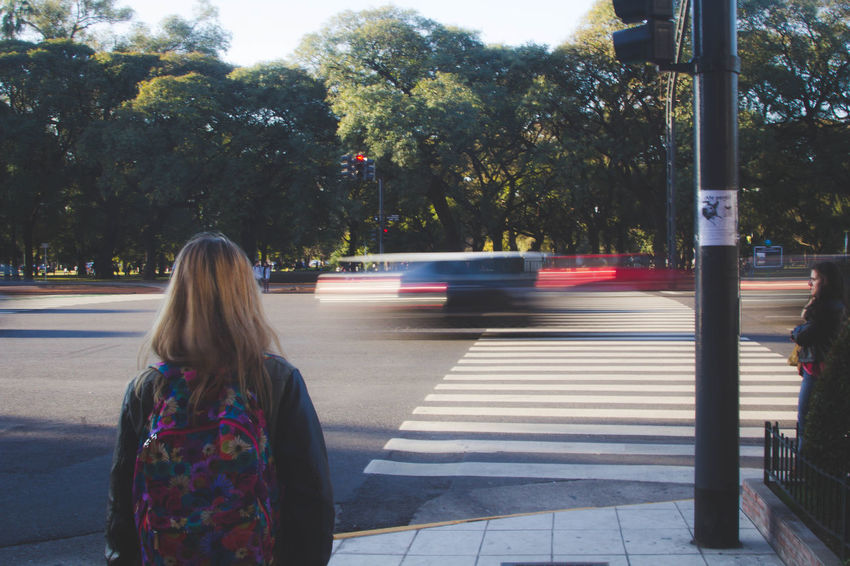 Buenos Aires, always moving City City Life City Street Day Lifestyles Outdoors Street Photography The Way Forward