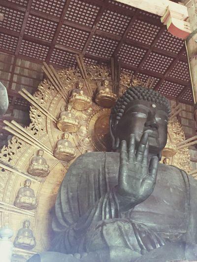 Nara Sculpture Art Religion Temple - Building History Nara,Japan Todaiji