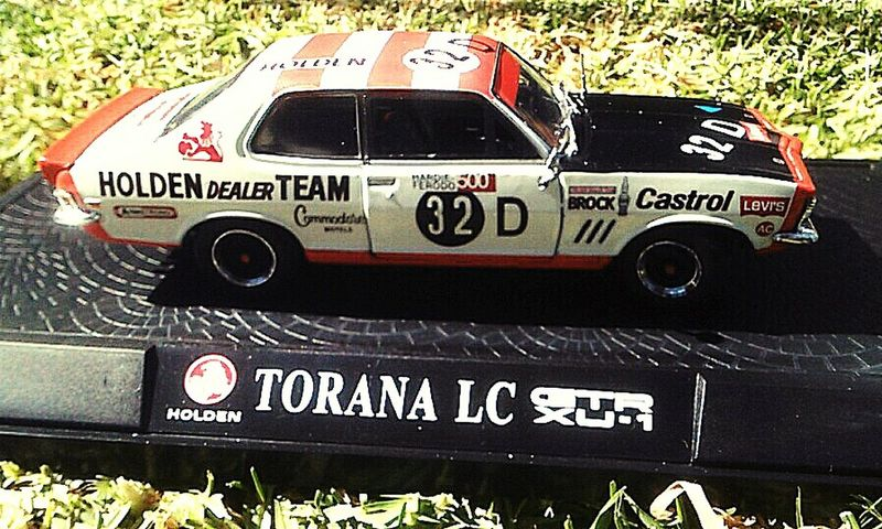 Holden Dealer Team Holden Torana GTR_XU-1_Torana Holden Torana H.D.T. Holden XU-1 GTR General Motors Holden die cast model Car Racing Brock Motorsport Brock Hdt